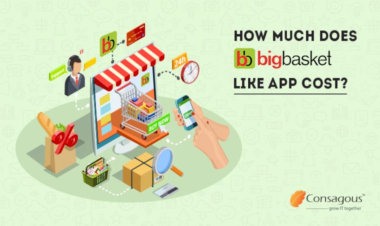 How Much Does it Cost to Develop an App like BigBasket?