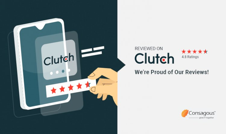 Reviewed on Clutch – Consagous Technologies