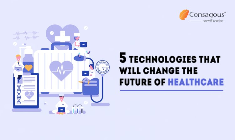 5 Technologies That Will Change The Future of Healthcare