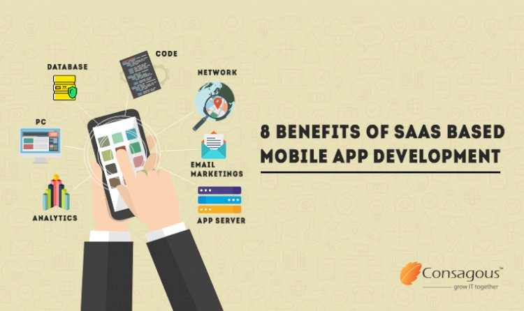 Top 8 Benefits of SaaS Based Mobile App Development