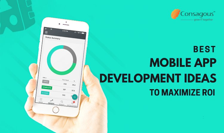 Best Mobile App Development Ideas to Maximize ROI