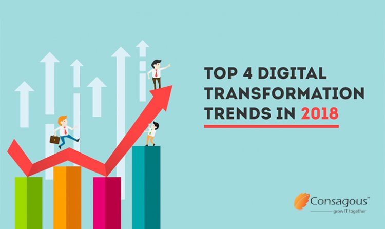 Top 4 Digital Transformation Trends In 2018