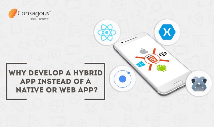 Why develop a Hybrid App instead of a Native or Web App?