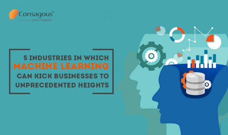 5 Industries in Which Machine Learning can Kick Businesses to Unprecedented Heights