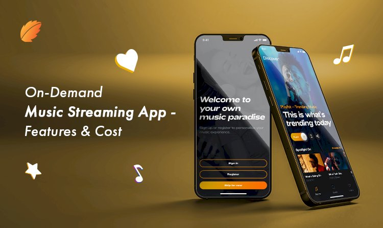 On-Demand Music Streaming App- Features and Costs