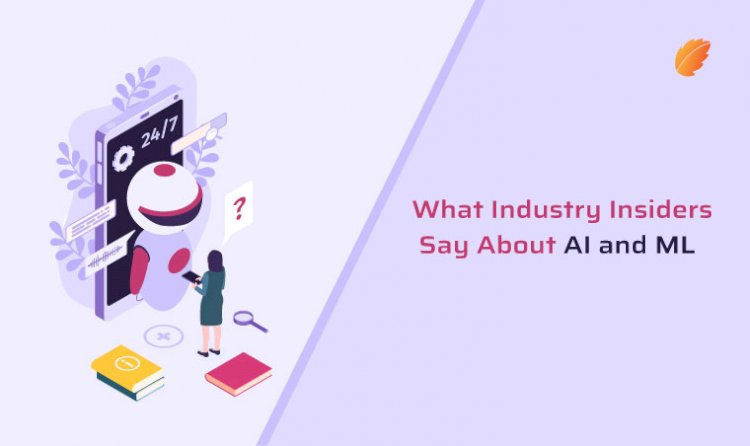 What Industry Insiders Say About AI and ML?